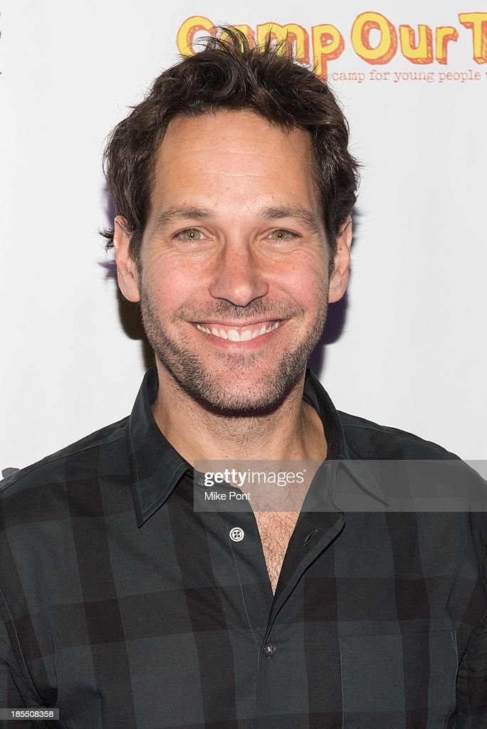 Actor <a gi-track='captionPersonalityLinkClicked' href=/galleries/search?phrase=Paul+Rudd&family=editorial&specificpeople=209014 ng-click='$event.stopPropagation()'>Paul Rudd</a> attends the <a gi-track='captionPersonalityLinkClicked' href=/galleries/search?phrase=Paul+Rudd&family=editorial&specificpeople=209014 ng-click='$event.stopPropagation()'>Paul Rudd</a> 2nd Annual All-Star Bowling Benefit at Lucky Strike on October 21, 2013 in New York City.