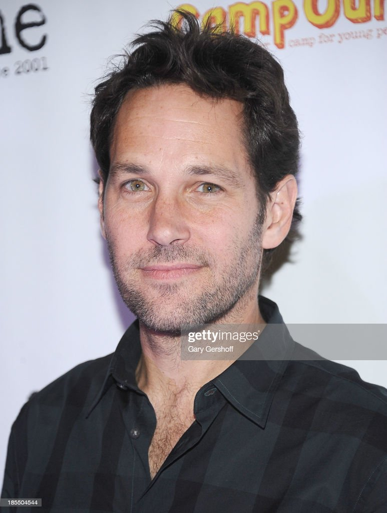 Actor <a gi-track='captionPersonalityLinkClicked' href=/galleries/search?phrase=Paul+Rudd&family=editorial&specificpeople=209014 ng-click='$event.stopPropagation()'>Paul Rudd</a> attends the <a gi-track='captionPersonalityLinkClicked' href=/galleries/search?phrase=Paul+Rudd&family=editorial&specificpeople=209014 ng-click='$event.stopPropagation()'>Paul Rudd</a> 2nd Annual All-Star Bowling Benefit supporting Our Time at Lucky Strike on October 21, 2013 in New York City.