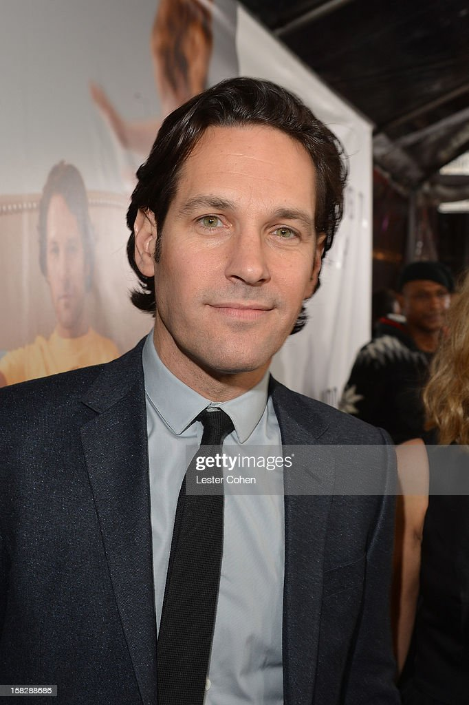 Actor Paul Rudd attends 'This Is 40' - Los Angeles Premiere - Red Carpet at Grauman's Chinese Theatre on December 12, 2012 in Hollywood, California.