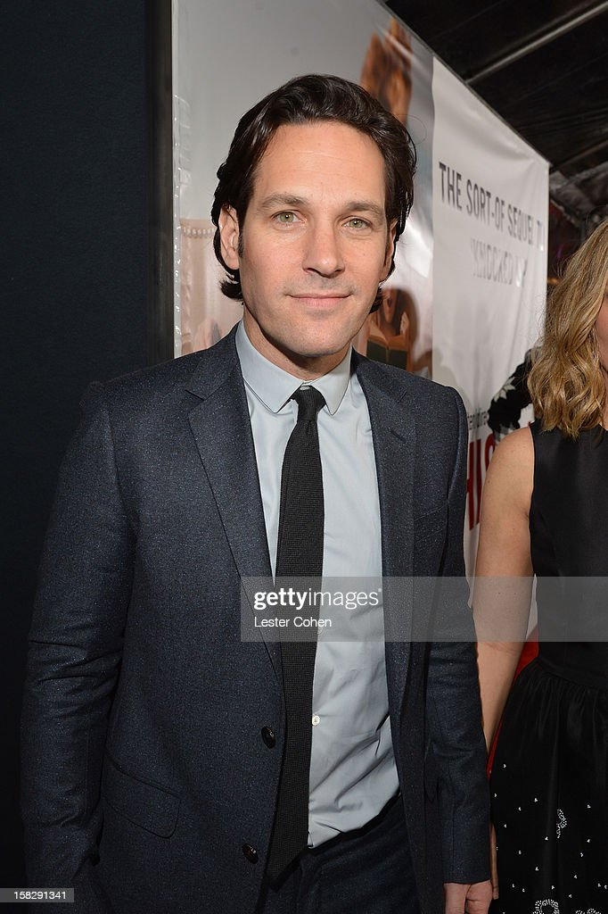 Actor <a gi-track='captionPersonalityLinkClicked' href=/galleries/search?phrase=Paul+Rudd&family=editorial&specificpeople=209014 ng-click='$event.stopPropagation()'>Paul Rudd</a> attends 'This Is 40' - Los Angeles Premiere - Red Carpet at Grauman's Chinese Theatre on December 12, 2012 in Hollywood, California.