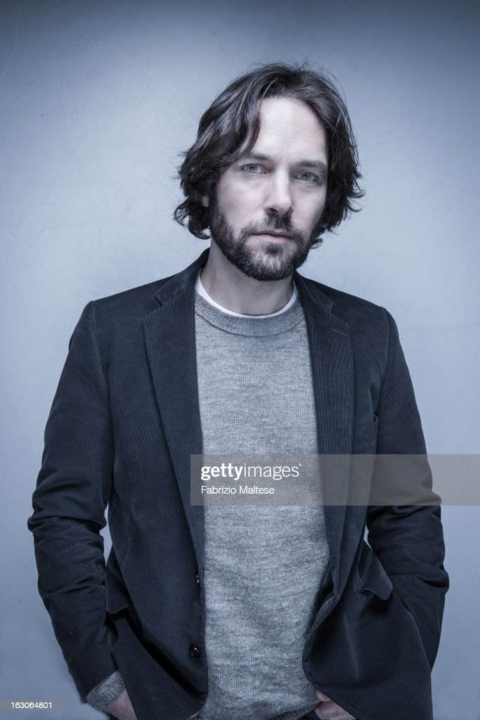 Actor <a gi-track='captionPersonalityLinkClicked' href=/galleries/search?phrase=Paul+Rudd&family=editorial&specificpeople=209014 ng-click='$event.stopPropagation()'>Paul Rudd</a> is photographed for Self Assignment on February 13, 2013 in Berlin, Germany.