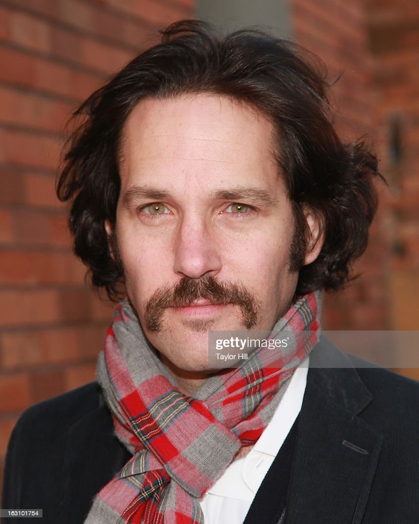 Actor <a gi-track='captionPersonalityLinkClicked' href=/galleries/search?phrase=Paul+Rudd&family=editorial&specificpeople=209014 ng-click='$event.stopPropagation()'>Paul Rudd</a> visits 'The Daily Show with Jon Stewart' at The Daily Show studios on March 4, 2013 in New York City.
