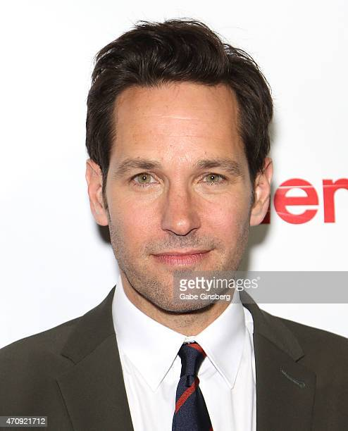Actor Paul Rudd winner of CinemaCon's Male Star of the Year award attends the 2015 Big Screen Achievement Awards during 2015 CinemaCon at OMNIA...