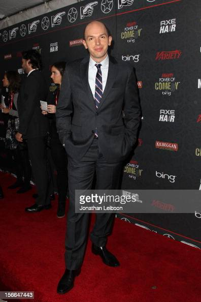 Actor Paul Scheer arrives at Variety's 3rd annual Power of Comedy event presented by Bing benefiting the Noreen Fraser Foundation held at Avalon on...