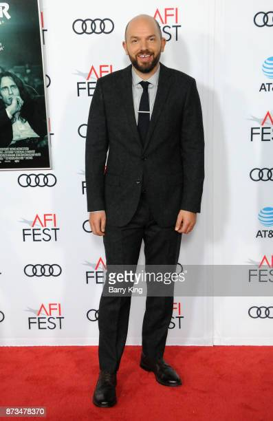 Actor Paul Scheer attends AFI FEST 2017 Presented By Audi Screening Of 'The Disaster Artist' at TCL Chinese Theatre on November 12 2017 in Hollywood...
