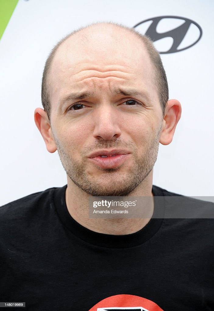 Actor <a gi-track='captionPersonalityLinkClicked' href=/galleries/search?phrase=Paul+Scheer&family=editorial&specificpeople=805513 ng-click='$event.stopPropagation()'>Paul Scheer</a> attends Course of The Force - Inaugural 'Star Wars' Lightsaber Relay at Santa Monica Pier on July 7, 2012 in Santa Monica, California.