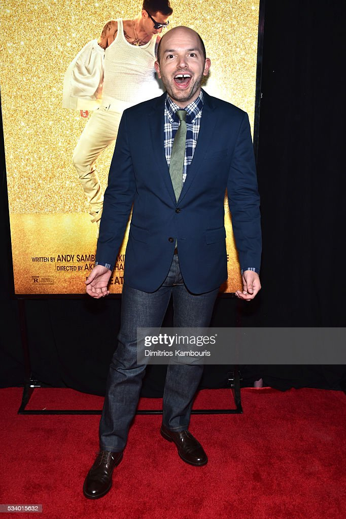 Actor <a gi-track='captionPersonalityLinkClicked' href=/galleries/search?phrase=Paul+Scheer&family=editorial&specificpeople=805513 ng-click='$event.stopPropagation()'>Paul Scheer</a> attends 'Popstar: Never Stop Never Stopping' at AMC Loews Lincoln Square 13 theater on May 24, 2016 in New York City.