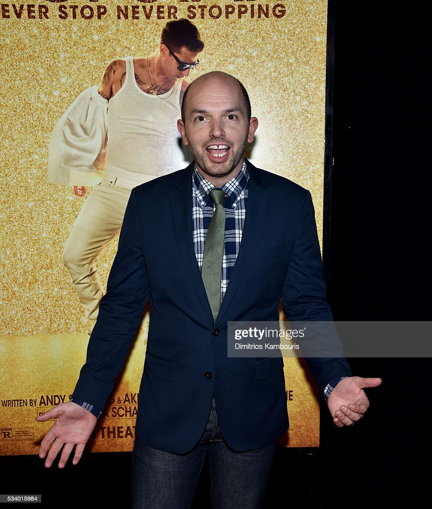 Actor Paul Scheer attends 'Popstar: Never Stop Never Stopping' at AMC Loews Lincoln Square 13 theater on May 24, 2016 in New York City.