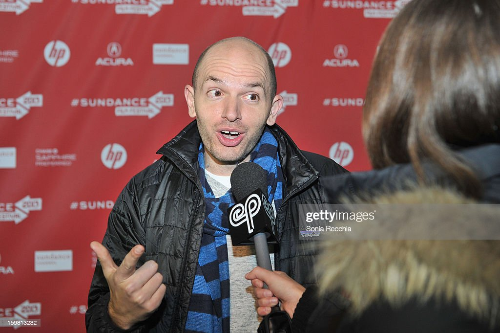 Actor <a gi-track='captionPersonalityLinkClicked' href=/galleries/search?phrase=Paul+Scheer&family=editorial&specificpeople=805513 ng-click='$event.stopPropagation()'>Paul Scheer</a> attends the 'Hell Baby' premiere at Library Center Theater during the 2013 Sundance Film Festival on January 20, 2013 in Park City, Utah.