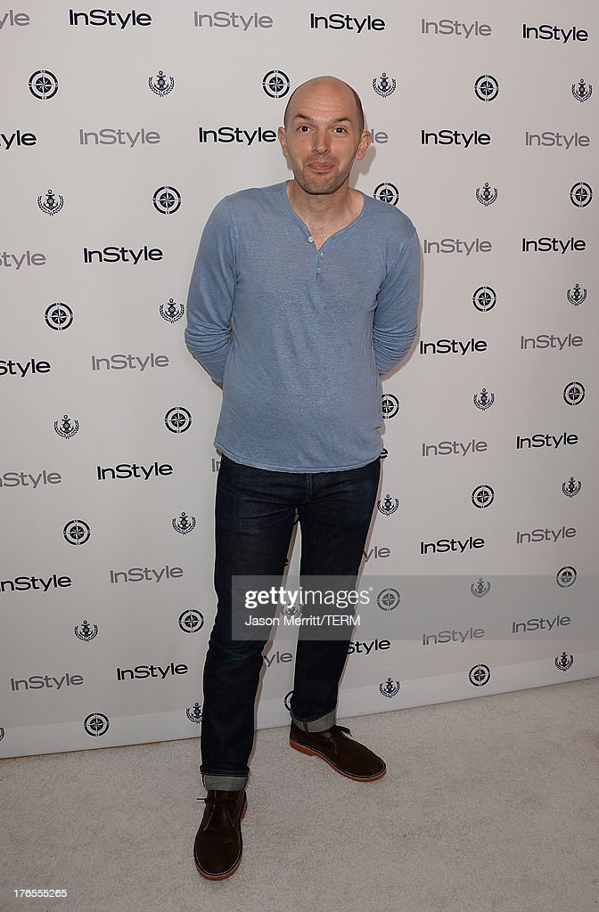 Actor Paul Scheer attends the InStyle Summer Soiree held Poolside at the Mondrian hotel on August 14, 2013 in West Hollywood, California.
