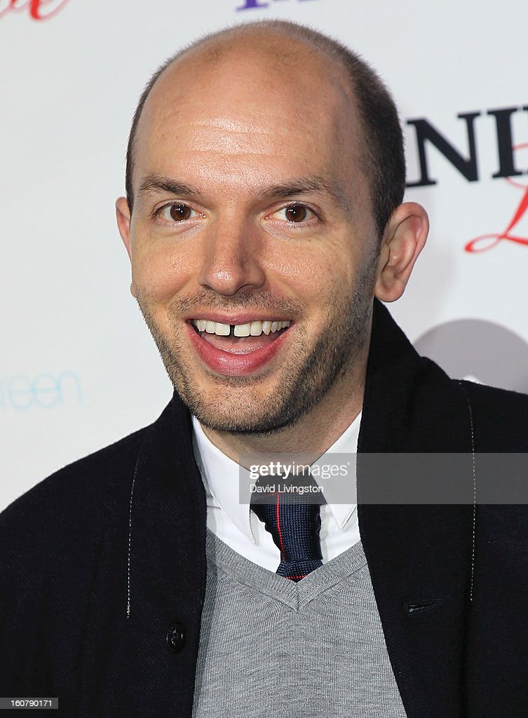 Actor <a gi-track='captionPersonalityLinkClicked' href=/galleries/search?phrase=Paul+Scheer&family=editorial&specificpeople=805513 ng-click='$event.stopPropagation()'>Paul Scheer</a> attends the premiere of 'Burning Love' Season 2 at the Paramount Theater on the Paramount Studios lot on February 5, 2013 in Hollywood, California.