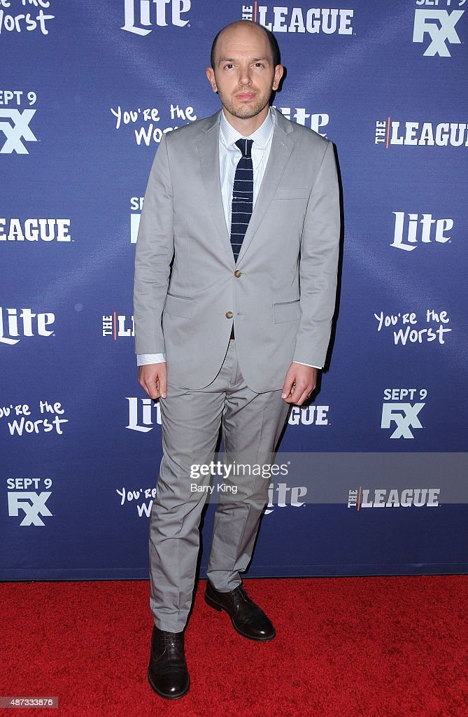 Actor Paul Scheer attends the premiere of FXX's 'The League' final season and 'You're The Worst' 2nd season at the Regency Bruin Theater on September 8, 2015 in Westwood, California.