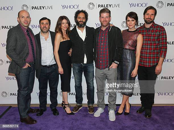 Actor Paul Scheer executive producers Jeff Schaffer and Jackie Marcus Schaffer actors Jason Mantzoukas Stephen Rannazzisi Katie Aselton and Jon...