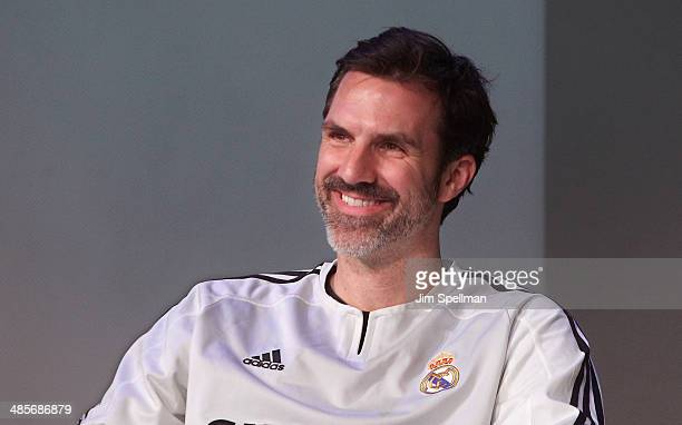 Actor Paul Schneider attends Meet The Filmmaker Good Bye To All That' during the 2014 Tribeca Film Festival at Apple Store Soho on April 19 2014 in...