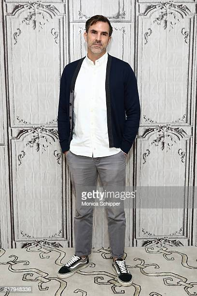 Actor Paul Schneider attends The Build Series Presents Paul Schneider Discussing The New Show 'Channel Zero Candle Cove' at AOL HQ on October 25 2016...