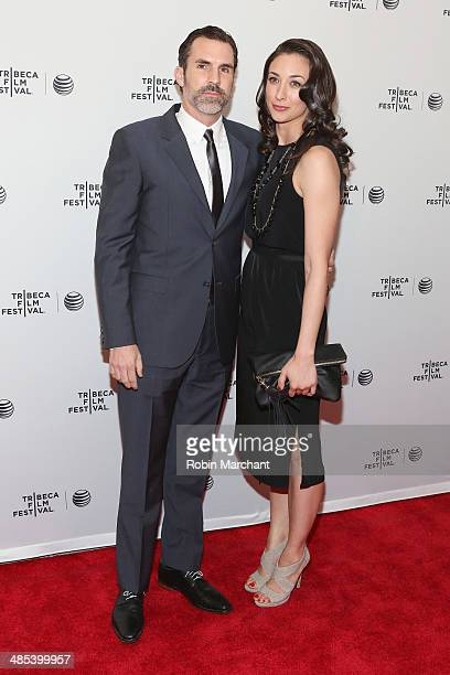 Actor Paul Schneider attends the 'Goodbye To All That' Premiere during the 2014 Tribeca Film Festival at the SVA Theater on April 17 2014 in New York...