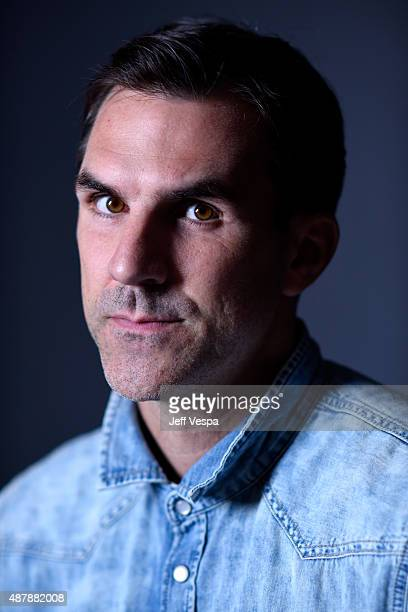 Actor Paul Schneider from 'The Daughter' poses for a portrait during the 2015 Toronto International Film Festival at the TIFF Bell Lightbox on...