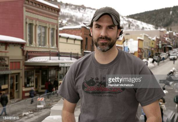 Actor Paul Schneider of 'Pretty Bird' poses at the Sky 360 Delta Lounge during 2008 Sundance Film Festival on January 20 2008 in Park City Utah