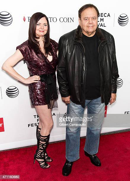 Actor Paul Sorvino and Dee Dee Benkie attend the closing night screening of 'Goodfellas' during the 2015 Tribeca Film Festival at Beacon Theatre on...