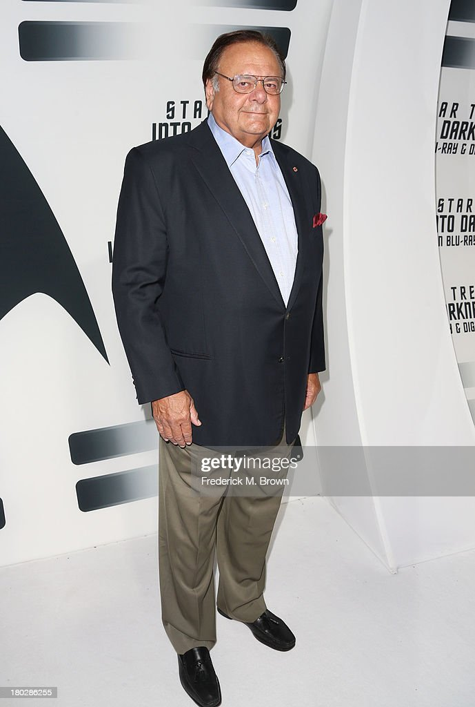 Actor <a gi-track='captionPersonalityLinkClicked' href=/galleries/search?phrase=Paul+Sorvino&family=editorial&specificpeople=239131 ng-click='$event.stopPropagation()'>Paul Sorvino</a> attends 'Star Trek Into Darkness' Blu-ray/DVD Release Event at the California Science Center on September 10, 2013 in Los Angeles, California.