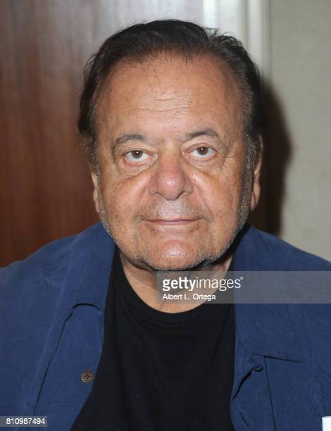 Actor Paul Sorvino signs autographs at The Hollywood Show held at Westin LAX Hotel on July 8 2017 in Los Angeles California