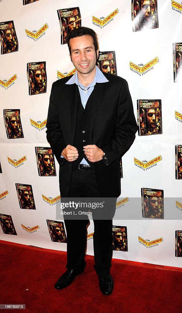 Actor Paul Tirado arrives Premiere Of '6 Degrees Of Hell' - Arrivals held at Laemmle Music Hall 3 on November 20, 2012 in Beverly Hills, California.
