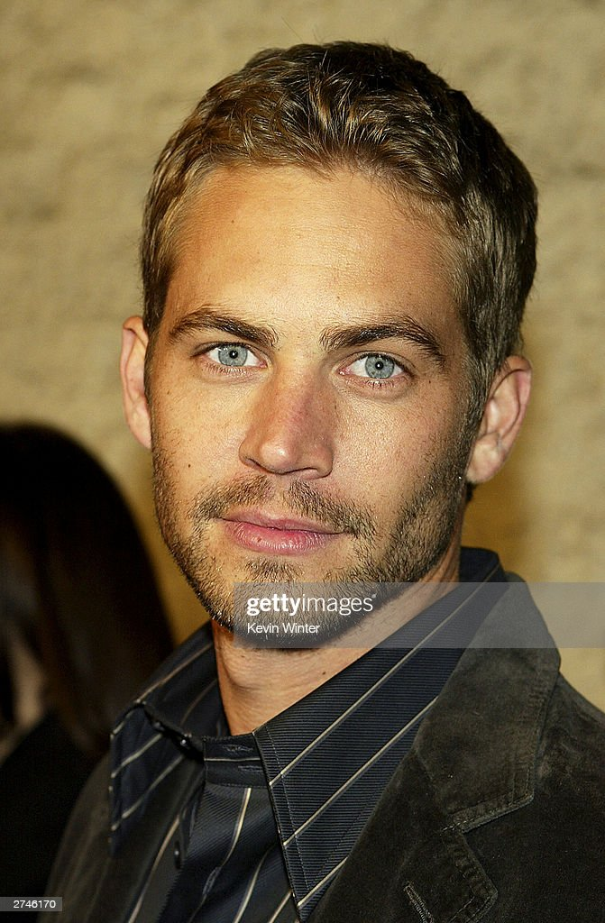Actor <a gi-track='captionPersonalityLinkClicked' href=/galleries/search?phrase=Paul+Walker+-+Actor&family=editorial&specificpeople=206607 ng-click='$event.stopPropagation()'>Paul Walker</a> arrives at the premiere of 'Timeline' at the National Theatre on November 19, 2003 in Los Angeles, California.