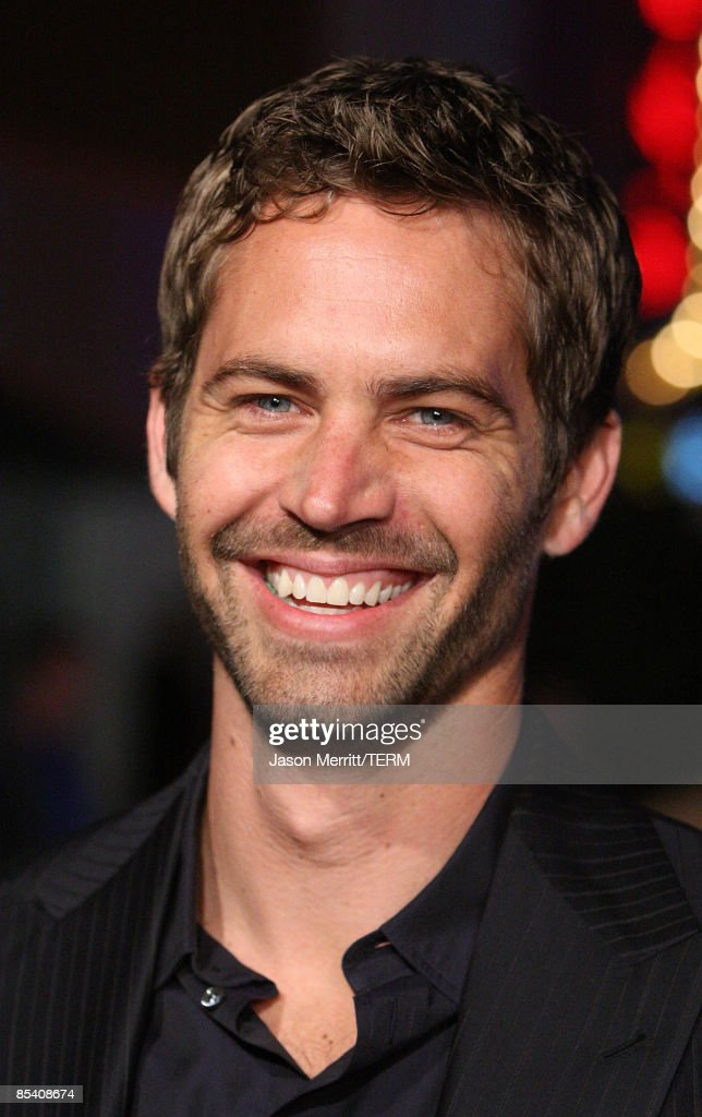 Actor Paul Walker arrives at the premiere Universal's 'Fast Furious' held at Universal CityWalk Theaters on March 12 2009 in Universal City California
