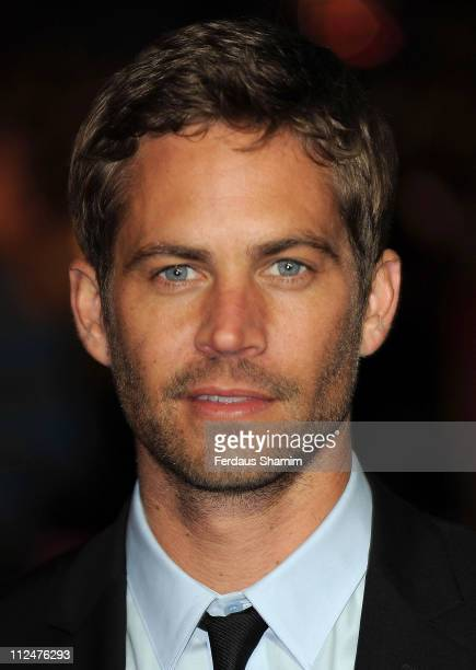 Actor Paul Walker attends the UK Premiere of 'Fast Furious' at the Vue West End on March 18 2009 in London England