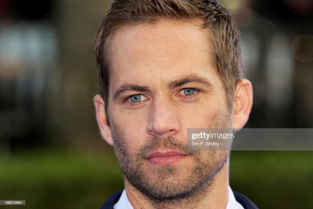 Actor <a gi-track='captionPersonalityLinkClicked' href=/galleries/search?phrase=Paul+Walker+-+Actor&family=editorial&specificpeople=206607 ng-click='$event.stopPropagation()'>Paul Walker</a> attends the World Premiere of 'Fast & Furious 6' at Empire Leicester Square on May 7, 2013 in London, England.