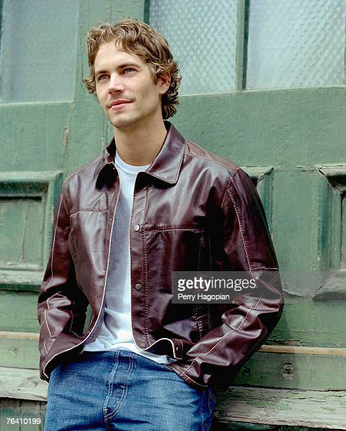 Actor Paul Walker is photographed for People Magazine in 2002 in New York City