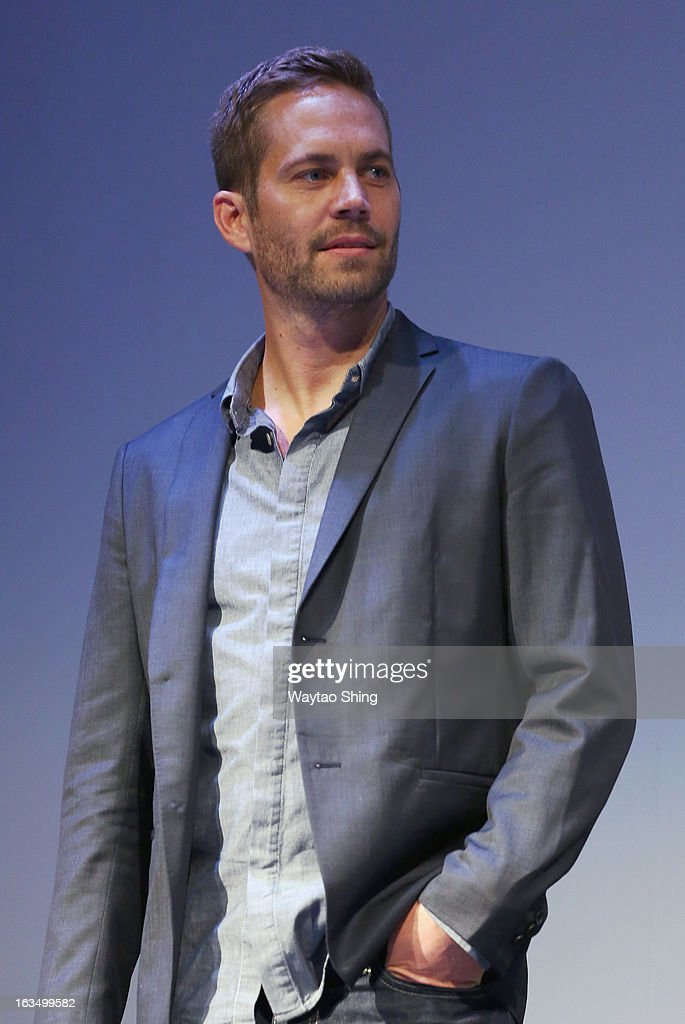 Actor Paul Walker speaks onstage at the 'Hours' QA during the 2013 SXSW Music Film Interactive Festival at Topfer Theatre at ZACH on March 10 2013 in...