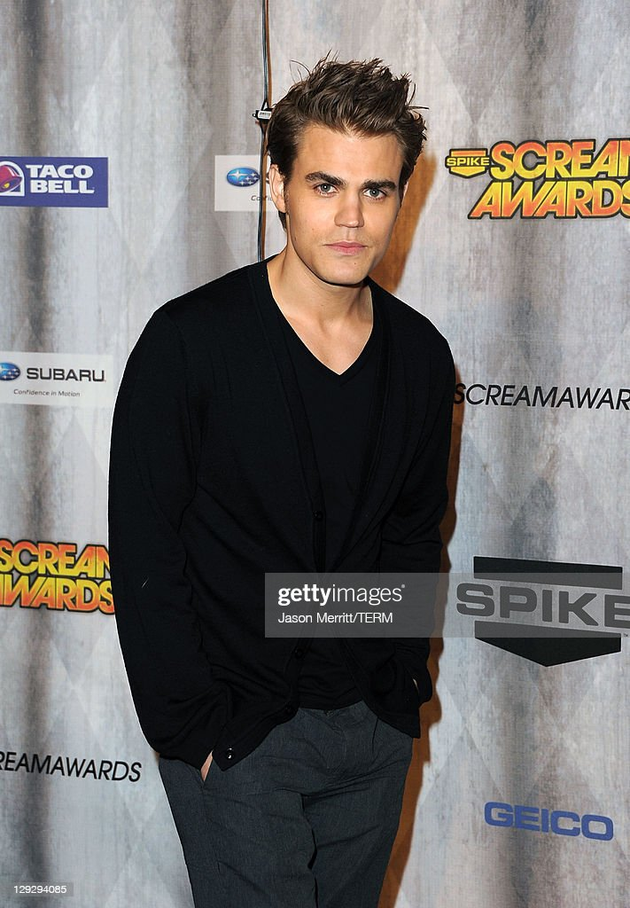 Actor Paul Wesley arrives at Spike TV's 'SCREAM 2011' awards held at Universal Studios on October 15, 2011 in Universal City, California.