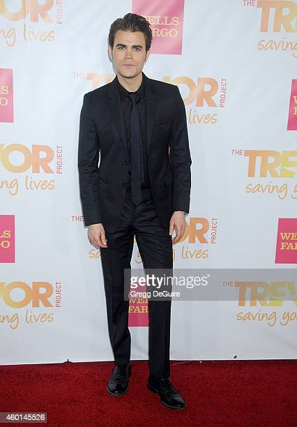 Actor Paul Wesley arrives at TrevorLIVE Los Angeles at Hollywood Palladium on December 7 2014 in Los Angeles California