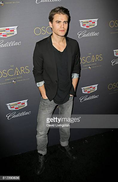Actor Paul Wesley attends Cadillac's PreOscar Event at Chateau Marmont on February 25 2016 in Los Angeles California