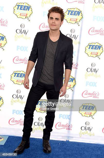 Actor Paul Wesley attends FOX's 2014 Teen Choice Awards at The Shrine Auditorium on August 10 2014 in Los Angeles California