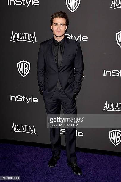 Actor Paul Wesley attends the 2015 InStyle And Warner Bros 72nd Annual Golden Globe Awards PostParty at The Beverly Hilton Hotel on January 11 2015...