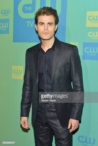 Actor Paul Wesley attends the CW Network's New York 2014 Upfront Presentation at The London Hotel on May 15 2014 in New York City