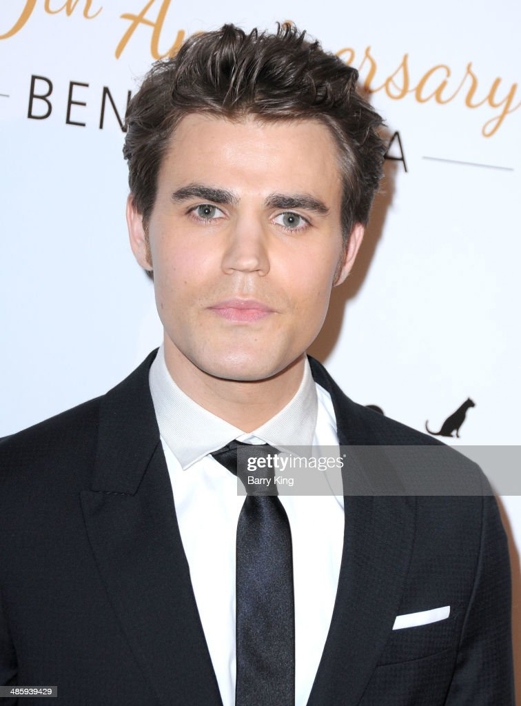 Actor <a gi-track='captionPersonalityLinkClicked' href=/galleries/search?phrase=Paul+Wesley&family=editorial&specificpeople=693176 ng-click='$event.stopPropagation()'>Paul Wesley</a> attends the Humane Society Of The United States 60th Anniversary Benefit Gala on March 29, 2014 at The Beverly Hilton Hotel in Beverly Hills, California.