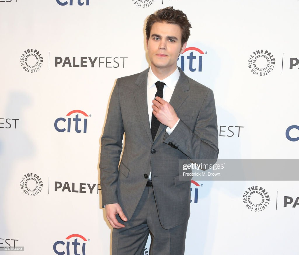 Actor <a gi-track='captionPersonalityLinkClicked' href=/galleries/search?phrase=Paul+Wesley&family=editorial&specificpeople=693176 ng-click='$event.stopPropagation()'>Paul Wesley</a> attends The Paley Center for Media's PaleyFest 2014 Honoring 'The Vampire Diaries' and 'The Originals' at the Dolby Theatre on March 22, 2014 in Hollywood, California.