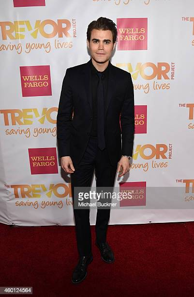 Actor Paul Wesley attends 'TrevorLIVE LA' Honoring Robert Greenblatt Yahoo and Skylar Kergil for The Trevor Project at Hollywood Palladium on...
