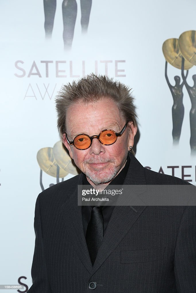 Actor <a gi-track='captionPersonalityLinkClicked' href=/galleries/search?phrase=Paul+Williams+-+Songwriter&family=editorial&specificpeople=5853768 ng-click='$event.stopPropagation()'>Paul Williams</a> attends the International Press Academy's 17th Annual Satellite Awards at InterContinental Hotel on December 16, 2012 in Century City, California.