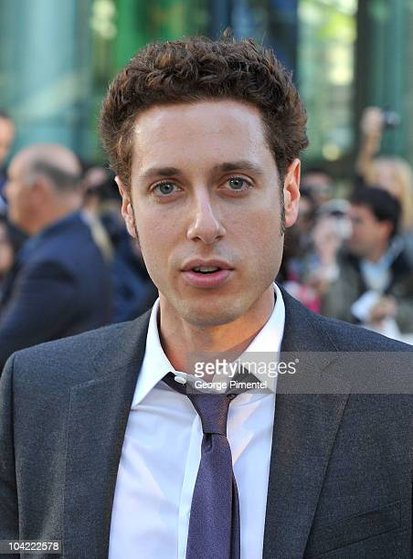 Actor Paulo Costanzo attends 'A Beginner's Guide To Endings' Premiere during the 35th Toronto International Film Festival at Roy Thomson Hall on...