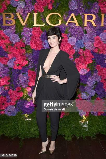 Actor Paz Vega attends Bulgari's PreOscar Dinner at Chateau Marmont on February 25 2017 in Hollywood United States