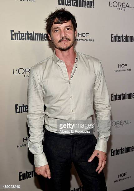 Actor Pedro Pascal attends the 2015 Entertainment Weekly PreEmmy Party at Fig Olive Melrose Place on September 18 2015 in West Hollywood California