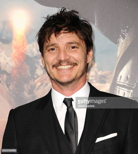 Actor Pedro Pascal attends the premiere of 'The Great Wall' at TCL Chinese Theatre IMAX on February 15 2017 in Hollywood California