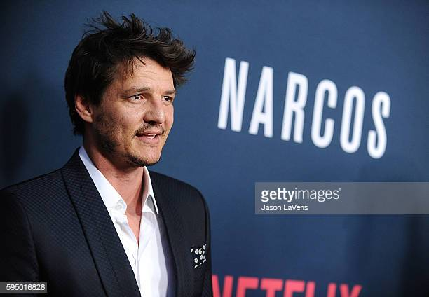 Actor Pedro Pascal attends the season 2 premiere of 'Narcos' at ArcLight Cinemas on August 24 2016 in Hollywood California