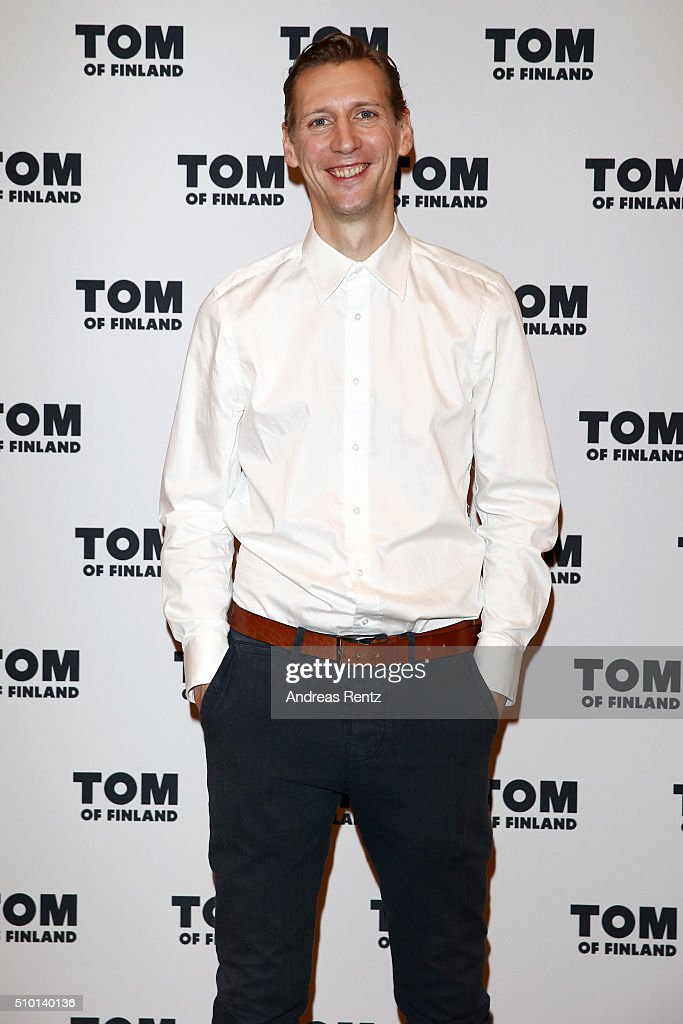Actor Pekka Strang attends the 'Tom of Finland' press conference during the 66th Berlinale International Film Festival Berlin at Ritz Carlton on February 14, 2016 in Berlin, Germany.