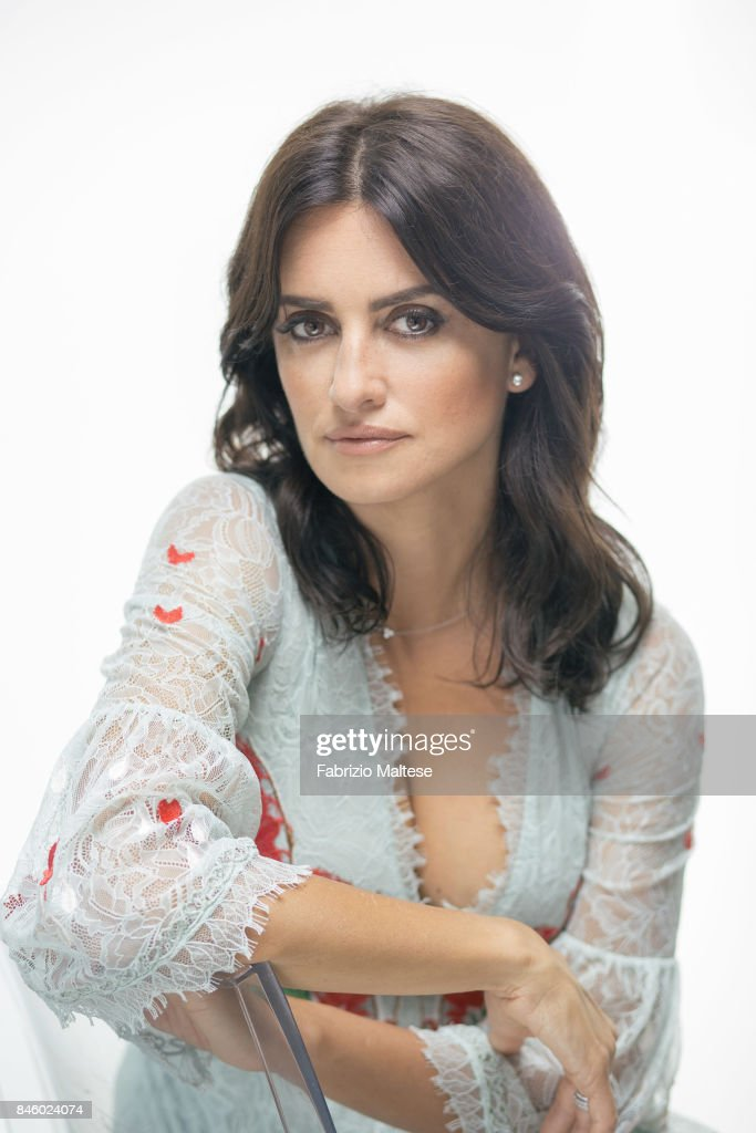 Actor Penelope Cruz is photographed on September 6, 2017 in Venice, Italy.