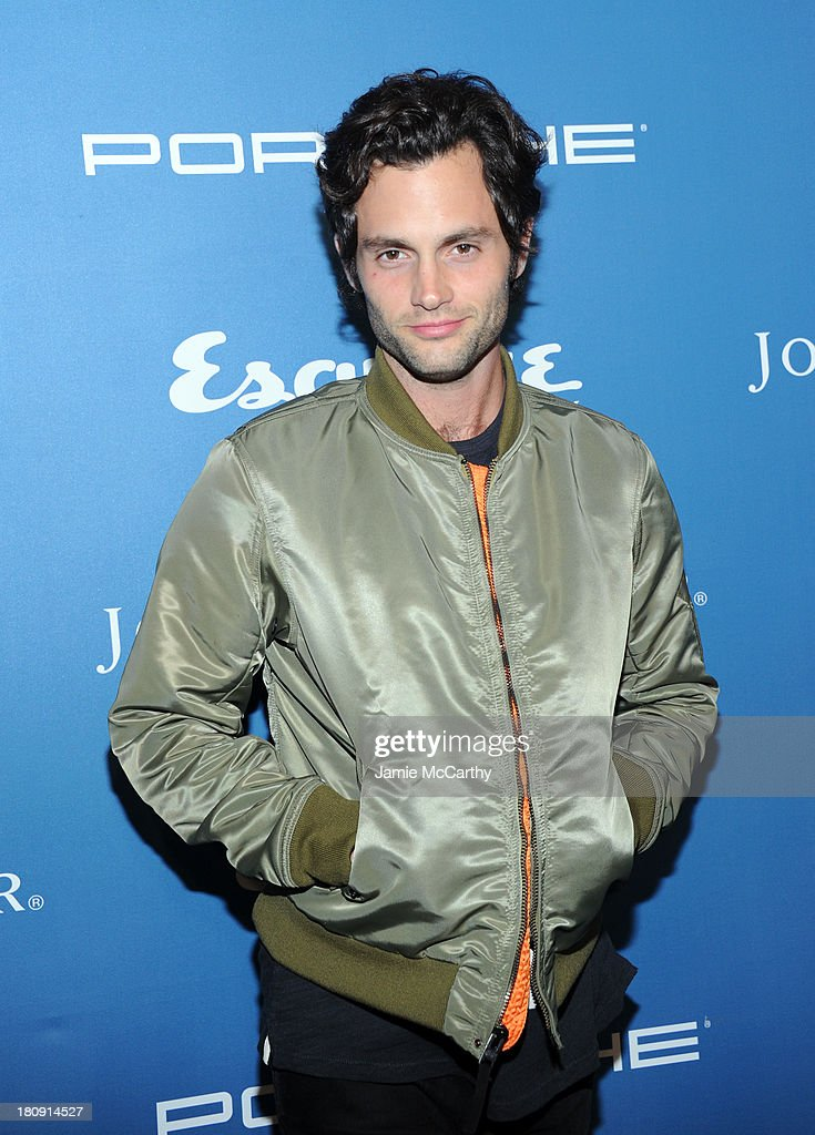 Actor <a gi-track='captionPersonalityLinkClicked' href=/galleries/search?phrase=Penn+Badgley&family=editorial&specificpeople=544488 ng-click='$event.stopPropagation()'>Penn Badgley</a> attends the Esquire 80th anniversary and Esquire Network launch celebration at Highline Stages on September 17, 2013 in New York City.